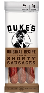 Dukes Original Shorty Smoked Sausages - 1.25 Oz.
