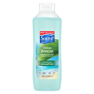 Suave Shampoo Essentials Ocean Breeze - 30 Oz.