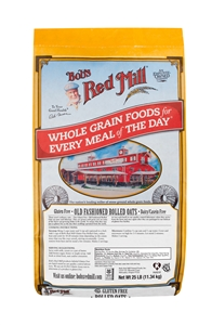 Bobs Red Mill Gluten Free Rolled Oats - 25 Lb.