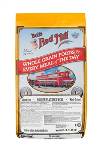 Bobs Red Mill Golden Flaxseed Meal - 25 Lb.