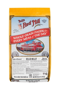 Bobs Red Mill Whole Grain Millet - 25 Lb.