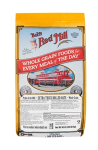Bobs Red Mill Thick Rolled Oats - 50 Lb.