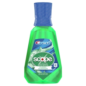 Crest Scope Classic Original Mint Rinse - 250 Ml.