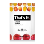 Thats It Fruit Bar Apple and Mango - 1.2 Oz.