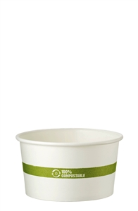 Ingeo Hot Paper Bowl - 12 Oz.
