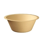 Compostable Unbleached Plant Fiber Bowls - 6 Oz.