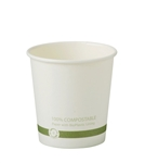 Hot Paper Cup with Ingeo Lining - 4 Oz.
