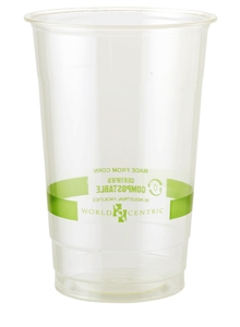 Compostable Ingeo Clear Cups - 32 Oz.