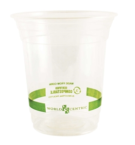 Biocompostable Corn Starch Clear Cup - 16 Oz.