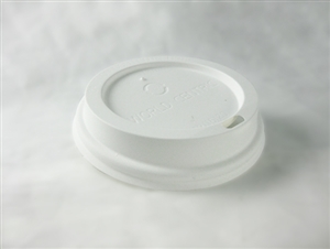 Compostable Plastic Lids For 10- 20 oz Sizes Hot Cup