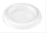 Biocompostable Corn Starch Souffle Clear 2 Oz Cup Lid