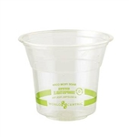 Biocompostable Corn Starch Clear Cup - 10 Oz.
