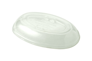 Ingeo Compostable 24 Oz.Burrito Bowls Lids Clear Small
