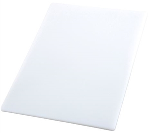 Cutting Board White Rectangular - 15 in. x 20 in. x 0.5 in.