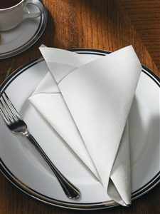Flat Pack White Fashnpoint Ultra Ply Napkin - 15.5 in. x 15.5 in.