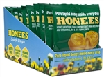 Honees Honey Cough Drop Bags Display Tray