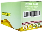 Honees Honey Lemon Cough Drops Bags Display Tray