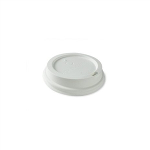 Hot White Cups Lid - 8 Oz.