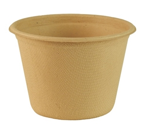 Compostable Unbleached Plant Fiber Cup - 4 Oz.