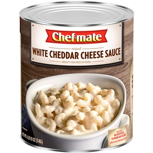 Chef Mate Sauce White Cheddar Cheese - 106 Oz.