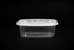Deli Rectangular Clear Container Base - 12 Oz.