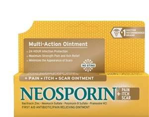 Neosporin Plus Pain Itch Scar Ointment - 0.5 Oz.