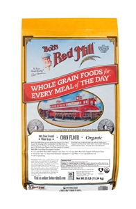 Bobs Red Mill Organic Corn Flour - 25 Lb.