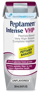 Nestle Peptamen Intense Dietary Food Very High Protein Unflavored - 8.45 Oz.