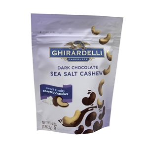 Dark Chocolate Sea Salt Cashew - 4.8 Oz.