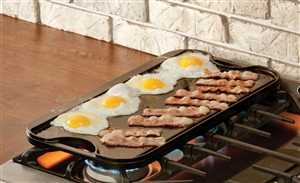 Pro-Grid Iron Reversible Grill and Griddle - 20 in. x 10.44 in.