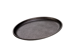 Cast Iron Oval Griddle Preseasoned - 13.88 in. x 10 in.