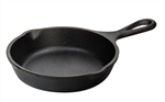 Heat-Treated Cast Iron Skillet - 5 in.