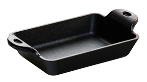 Heat-Treated Cast Iron Rectangle Mini Server - 10 Oz.