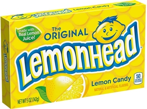 Lemonhead Lemon Candy Theater Box - 5 Oz.