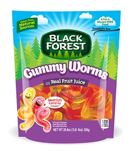 Black Forest Gummy Worms Doy - 28.8 Oz.
