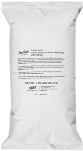 Fiesta Lime Flavor Station and Fries Seasoning - 2.6 Lb.
