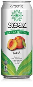Organic Iced Tea Peach - 16 Oz.