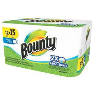 Bounty Paper Towel Large Roll Select A Size 2 Ply