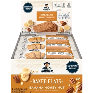 Quaker Breakfast Flats Banana Honey Nut - 1.41 Oz.