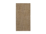 Natural Burlap Printed FashnPoint Guest Towel - 11.5 in. x 15.5 in.