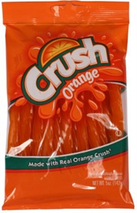 Orange Crush Twists - 5 Oz.