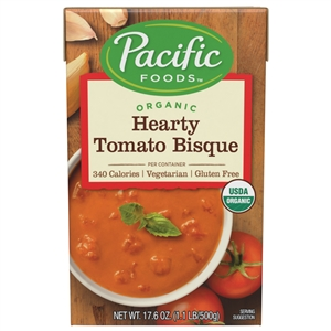 Pacific Hearty Tomato Organic Bisque - 17.6 Oz.