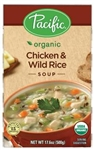 Pacific Organic Chicken and Wild Rice Soup - 17.6 Oz.