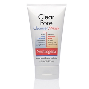 Neutrogena Cleanser Clean Pore Mask - 4.2 Fl. Oz.