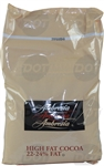 22/24 Amber Natural High Fat Cocoa Powder - 5 Lb.