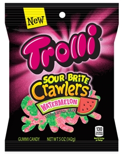Trolli Watermelon Sour Brite Peg - 5 Oz.