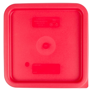 Square Winter Rose Lid for 6 and 8 Qt. Storage Container