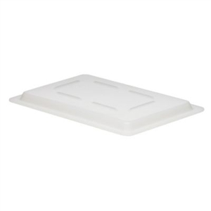 Poly White Flat Lids for Food Boxes - 12 in. x 18 in.