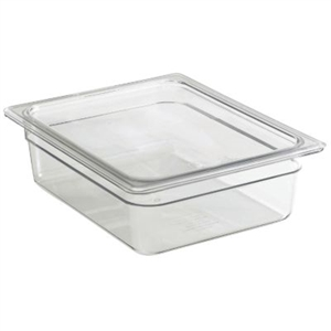 Camwear Clear Food Pans - 6.3 Qt.