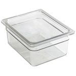 Camwear Clear Food Pan Half Size - 9.4 Qt.